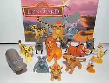 Disney The Lion Guard  Figure Set of 13 with Prince Kion, Pumba, Simon and More