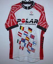 Vintage Polar cycling shirt jersey Nalini Size 6