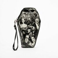 Rock Rebel The Munsters Glitter Coffin Clutch Wallet UTM-WAL80-GLIT-MUNSTERS