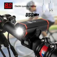 T6 Cycling 15000LM LED Bicycle Bike Lights USB Rechargeable Headlight Front Lamp
