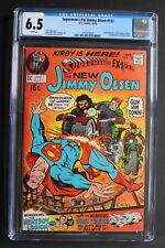 Superman's Pal Jimmy Olsen #133 KIRBY'S 4th WORLD BEGINS 1970 DC MOVIE CGC 6.5