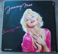 Jeanne Mas, sauvez moi / s'envoler jusqu'au bout, Maxi vinyl