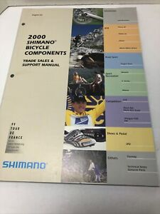 2000 Shimano Bicycle Componets Support Manual