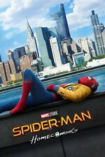 1 SPIDER-MAN: HOMECOMING MOVIE POSTER Vinyl PRINT TEASER STYLE, SPIDEY CHILLING