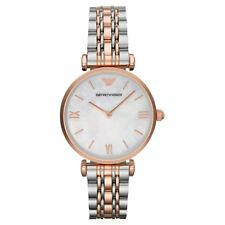 Emporio Armani AR1683 Classic Women's Watch Two-tone Rose Gold/Silver 32mm