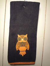 Black Owl Kitchen Towel