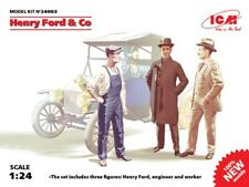 ICM 1/24 Henry Ford & Co - 3 FIGURINES #24003