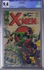 X-Men # 21 Marvel 1966 CGC 9.4 (NEAR MINT) WHITE PAGES
