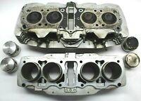 1976 Honda CB750 Engine Cylinder Head + Pistons + Jug Barrel & Valves/Springs