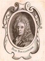 Portrait XVIIIe Bon Boullogne Boullogne l'Aîné Peintre Peinture 1762