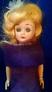 Vintage Sleepy Eyed Hard Plastic Carson  Doll