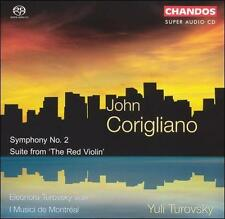 John Corigliano: Symphony No. 2; Suite from 'The Red Violin' [Hybrid SACD], New