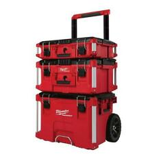 "Milwaukee 22"" Packout Modular Rolling Tool Box Stackable Storage 48-22-8400"