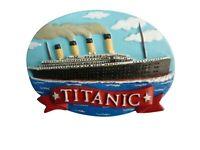 Titanic Collezionisti Blue Skies Resina Ovale Calamita Frigo ( Sg )