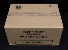 1984-85 O-Pee-Chee Hockey Bulk/Cut Card Vending Case. Still Sealed. 8650 cards.