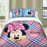 Duvet Cover Set for Comforter Twin/Full/Queen/King Size Bedding Set Minnie Mouse