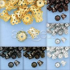 20g Flower Beads End Caps DIY Jewelry Finding 4.5-8.5mm Cute Wholesale