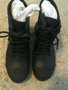 Hunter Men's Original Rubber Lace Up - Black - Size 8