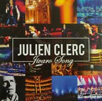 JULIEN CLERC : JIVARO SONG ( VERSION LIVE + ORIGINALE ) - [ CD SINGLE PROMO ]