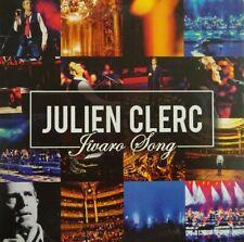 JULIEN CLERC : JIVARO SONG ( VERSION LIVE + ORIGINALE ) - [ CD SINGLE PROMO ]