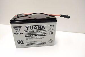 Waverunner Bait Boat Battery MK3/MK4 (Black Plug Version)