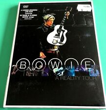 David Bowie - Bowie A Reality Tour - Live 30 songs- Region 4 - New DVD