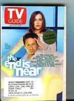 TV Guide Magazine May 18-24 2002 X-Files EX w/ML 121516jhe