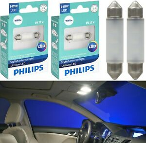 Philips Ultinon LED Light 6411 White 6000K Two Bulbs Step Door Replacement Lamp