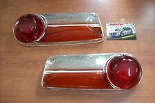 Coppia Fanali gemme plastiche posteriori Lancia Fulvia Coupe' fanale posteriore