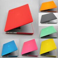 "Rubberized Matt Hard Case Cover (No Cut) for MacBook Pro 13"" 15"" Retina Display"