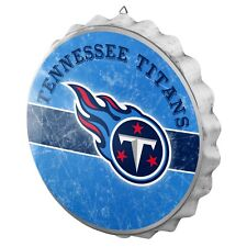"""Tennessee Titans Bottle Cap Wall Sign - Distressed - Room Bar Decor Metal 13.5"""""""