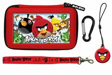Nintendo 3 DS & DSi * NOUVEAU officiel Angry Birds 3D Gamer 4 PC Rouge Carry Case Set *
