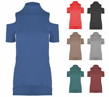 Polo Neck Fitted Other Tops for Women