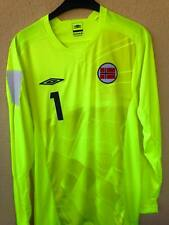 NORWAY GOLKEPER MATCH UN WORN SHIRT