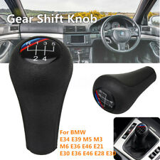 5 Speed Car Gear Shift Knob For BMW E34 E39 M5 M3 M6 E36 E46 E21 E30 E36 E46 E28