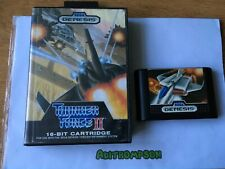 Thunder force II 2 game Sega megadrive genesis boxed