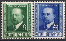 Germany's Third Reich Mi# 760-761 MH 50th Anni. of Development of Diptheria  *