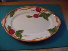 Vintage 1950's  Franciscan Apple 14 1/4 inch Oval Platter , TV Mark