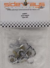 RACER SIDEWAYS G5R01 TYPE BBS WHEEL INSERTS NEW 1/32 SLOT CAR PART