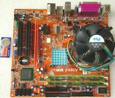 SCHEDA MADRE PC ABIT I-45CV +CPU INTEL E6750 2X2.66GHZ +4GB RAM DDR2 MOTHERBOARD