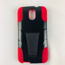 HTC Desire 526 Hybrid Phone Case Hard & Soft Rubber Protective Cover Kickstand