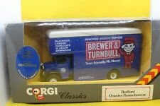 Corgi Classics Bedford O Series Pantechnicon Van in Brewer and Turnball Livery