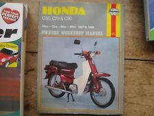 HONDA C50 - C70 - C90 HAYNES OWNERS WORKSHOP MANUAL ORIGINAL AND WELL KEPT