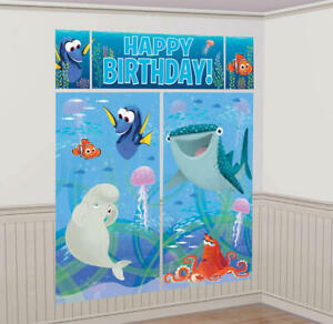 Under The Sea Finding Dory Party Supplies Scene Setter Wall Decorating Kit