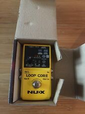 NUX Loop Core Guitar Electric Effect Pedal 6 Hours Recording Time Built-in Drum