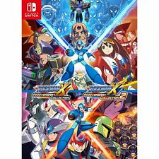 Rockman X Anniversary Collection x2 NINTENDO SWITCH JAPANESE IMPORT REGION FREE