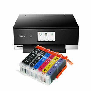 STAMPANTE MULTIFUNZIONE CANON PIXMA TS8350 WIFI SCANNER DUPLEX STAMPA CD/DVD