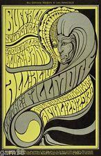 Buffalo Springfield Young Stills Steve Miller  BG  Handbill 1967 Wes Wilson