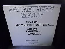 """Pat Metheny Group Are You Going With Me 12"""" 3 track EP ECM/Warner Bros 1982 EX"""