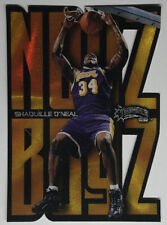 "1998-99 Skybox Thunder NOYZ BOYZ Shaquille O'Neal Insert Die Cut SHAQ ""GONE UP"""